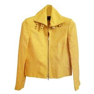Dana Buchman Yellow Blazer Size 2